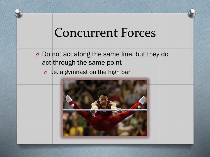 Concurrent Forces