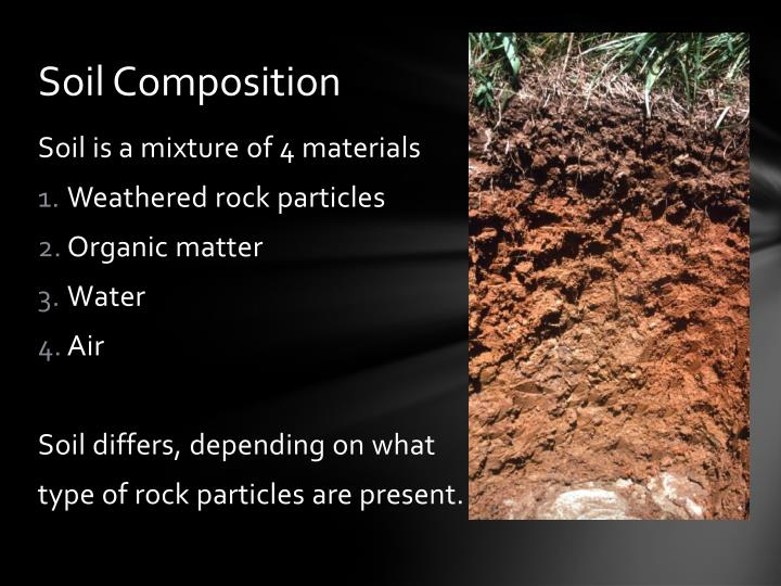 Ppt soil formation powerpoint presentation id 2522798 for Soil composition definition