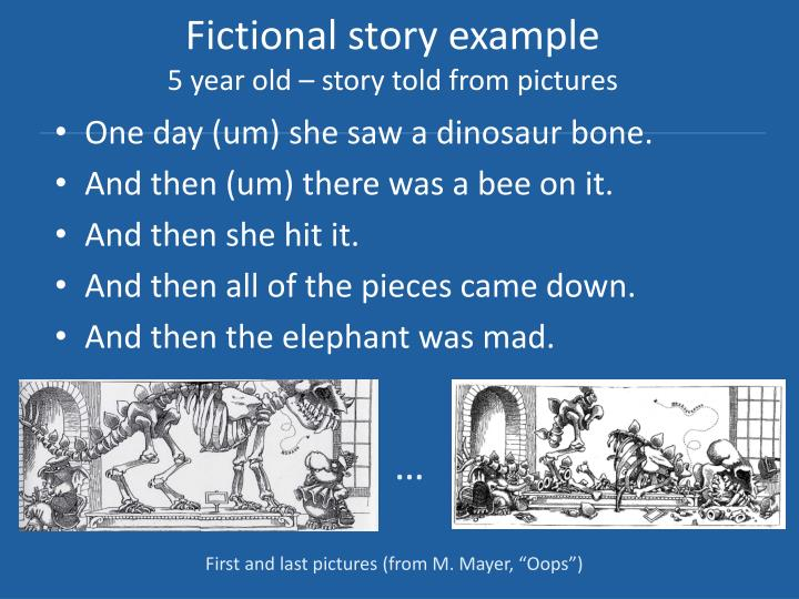 Fictional story example
