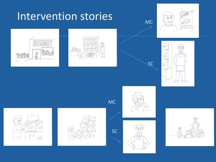 Intervention stories