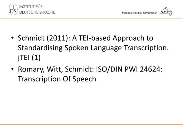Schmidt (2011): A