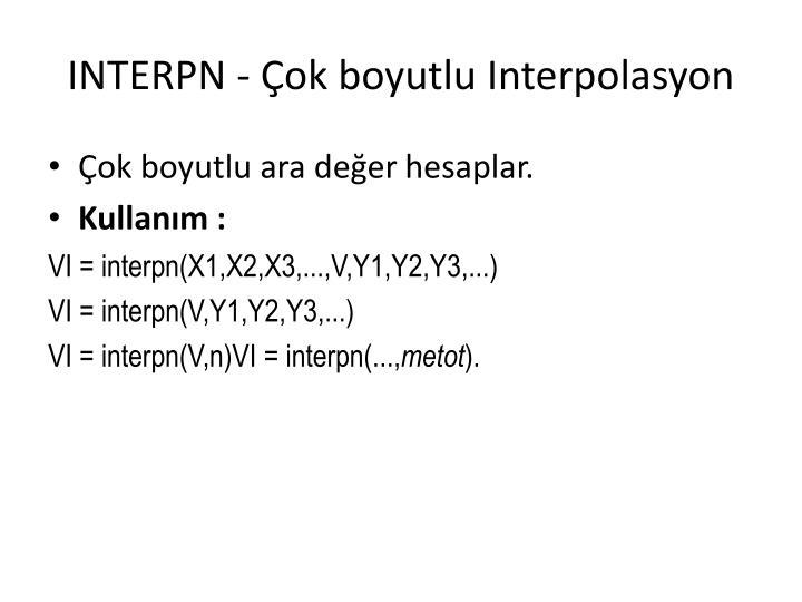 INTERPN -