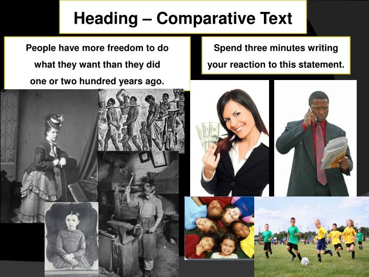 Heading – Comparative Text