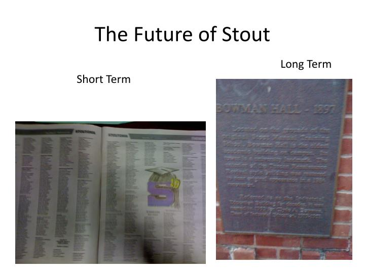 The Future of Stout