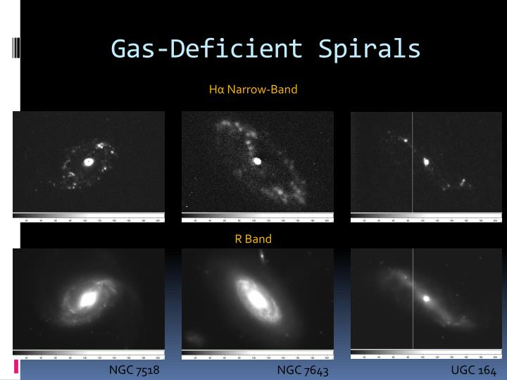 Gas-Deficient Spirals