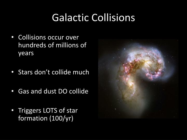 Galactic Collisions
