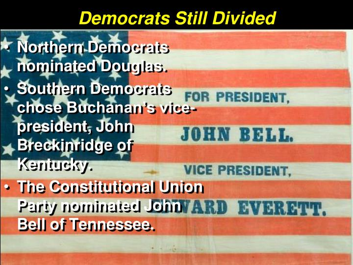 Democrats Still Divided