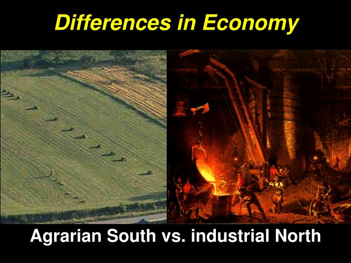 Differences in Economy