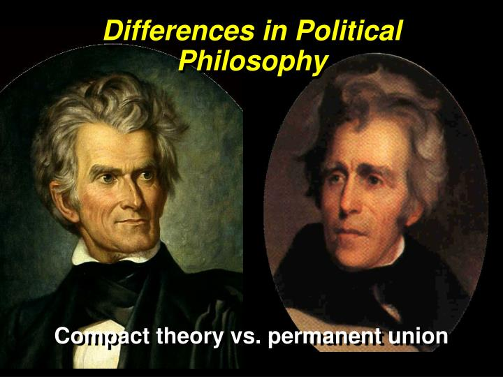 Differences in Political Philosophy