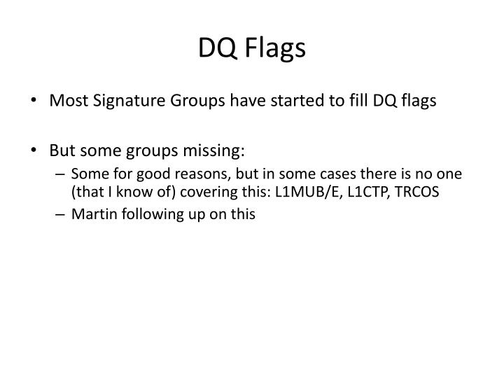 DQ Flags
