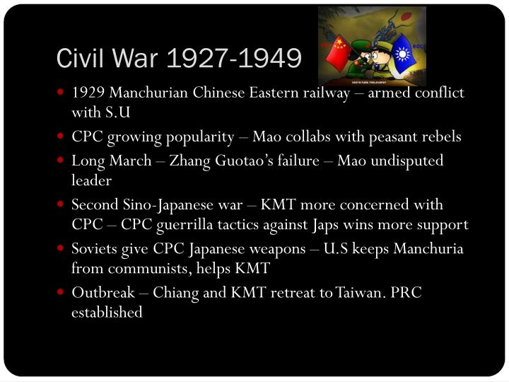 Civil War 1927-1949