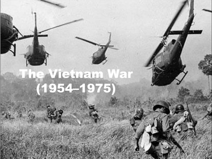The vietnam war 1954 1975