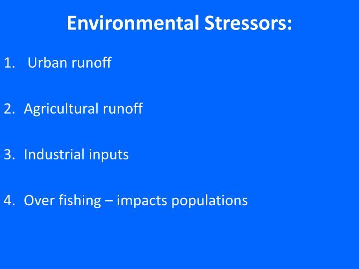 Environmental Stressors: