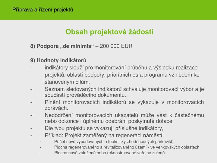 Příprava a řízení projektů