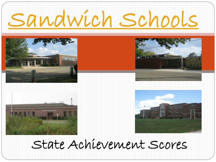 State Achievement Scores
