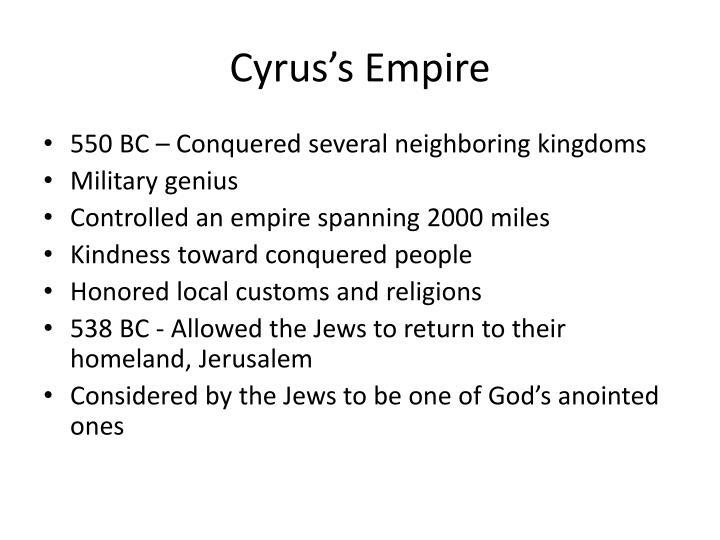 Cyrus's Empire