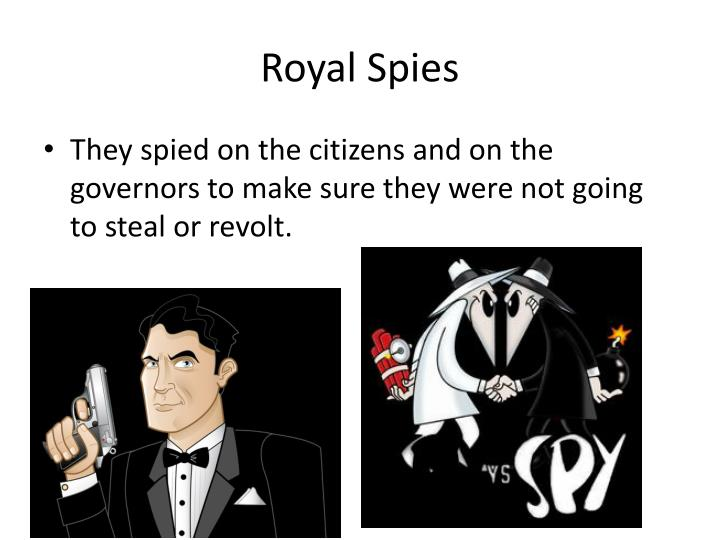 Royal Spies