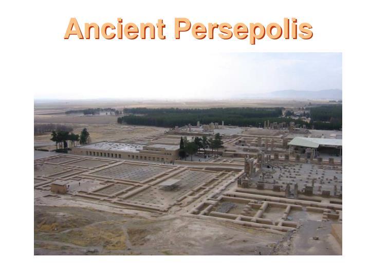 Ancient Persepolis