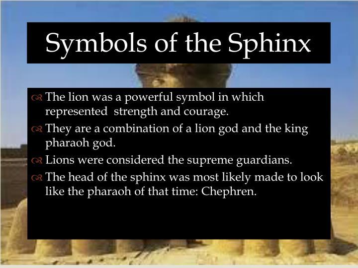 Symbols of the Sphinx