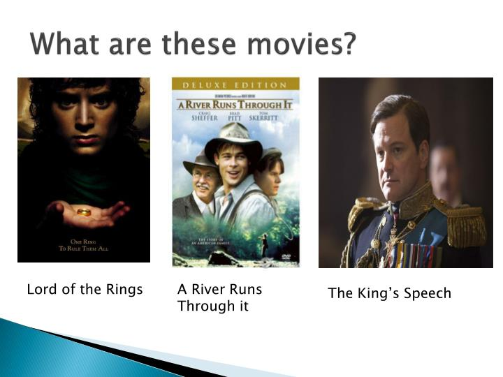 What are these movies