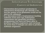information technology career in indonesia1