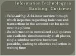 information technology in banking customer2