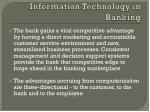 information technology in banking1