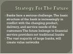 strategy for the future
