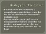 strategy for the future1
