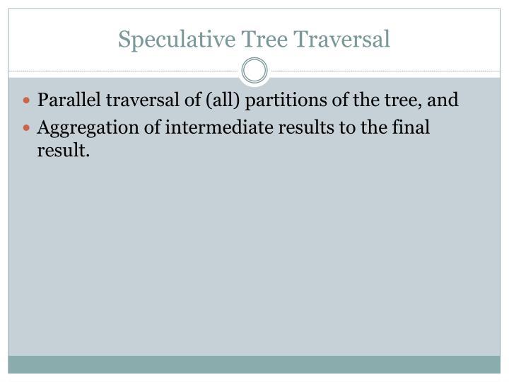 Speculative Tree Traversal