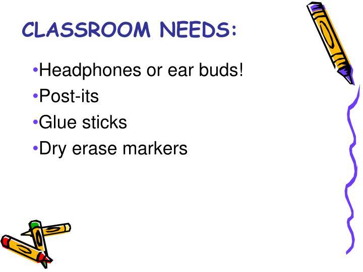 Headphones or ear buds!