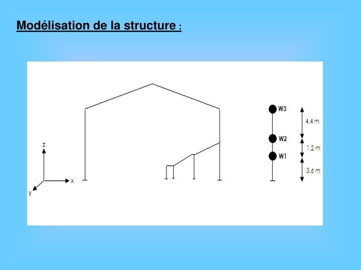 Modélisation de la structure