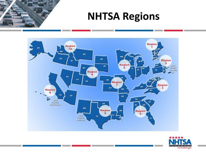 NHTSA Regions