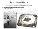 technological rituals rituals that attempt to influence control nature1