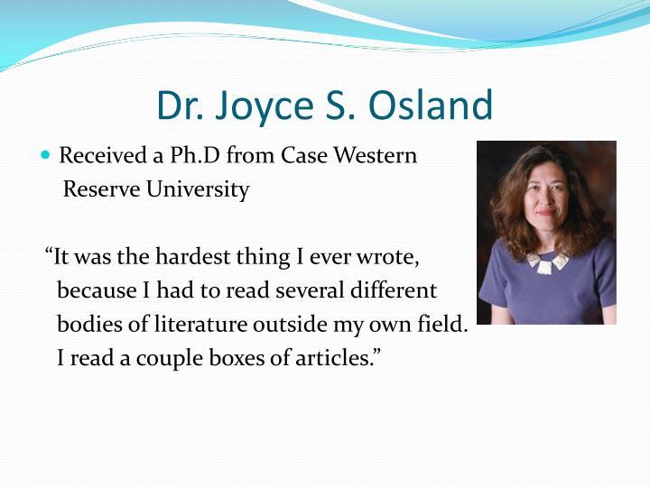 Michael Johannes Osland, Ph.D.