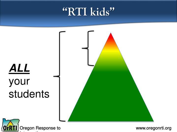 """RTI kids"""