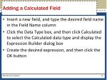 adding a calculated field