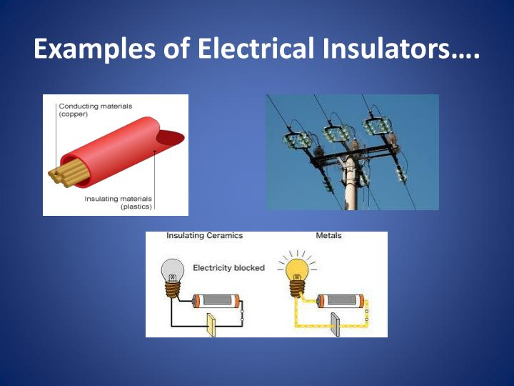Examples Of Conductors And Insulators : Ppt study hall powerpoint presentation id
