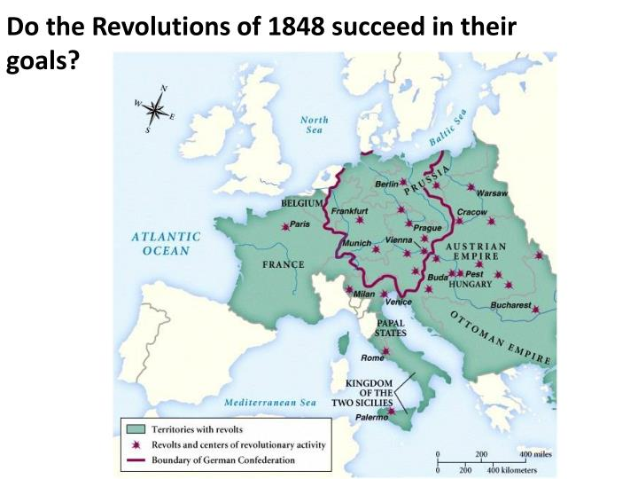 Do the Revolutions of 1848 succeed in their goals?