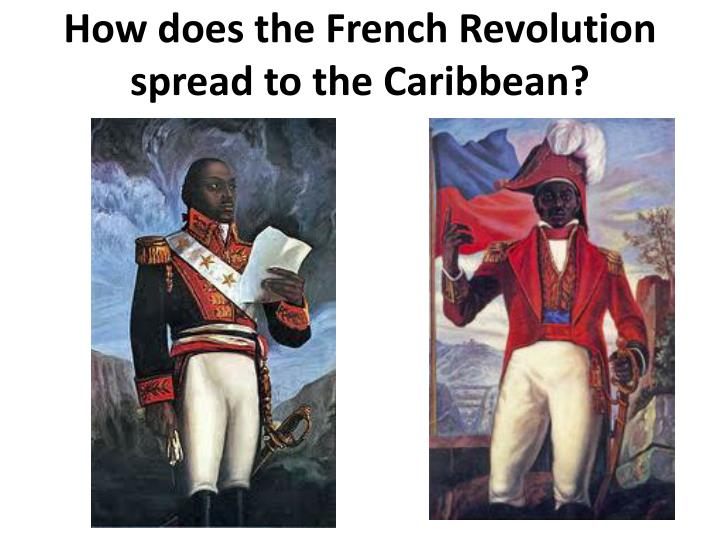 How does the French Revolution spread to the