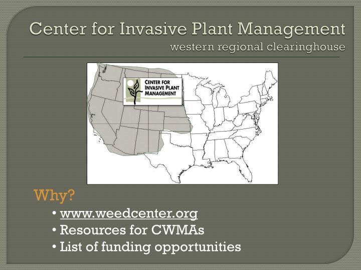 Center for Invasive Plant Management