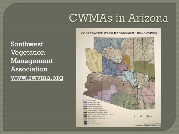 CWMAs in Arizona