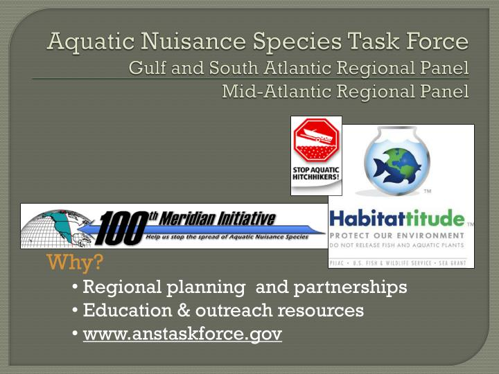 Aquatic Nuisance Species Task Force