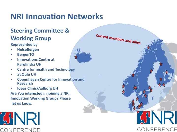 NRI Innovation Networks