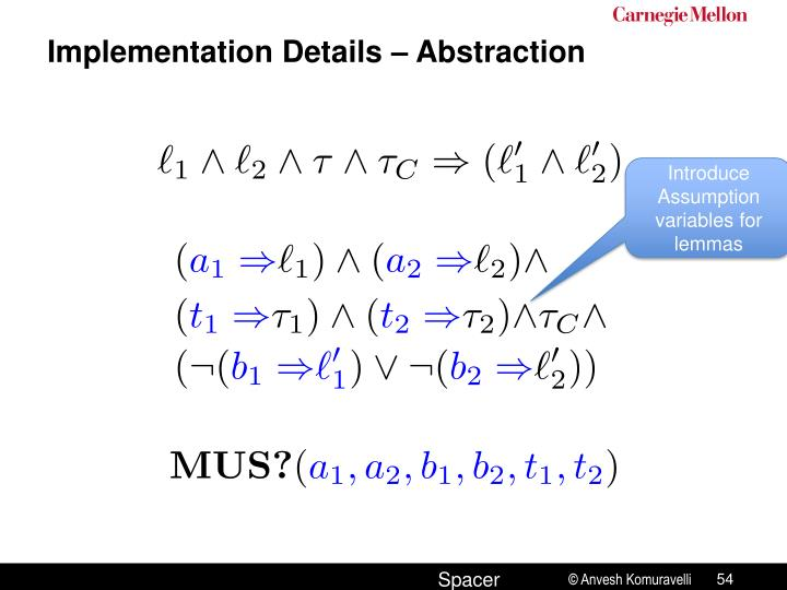 Implementation Details – Abstraction