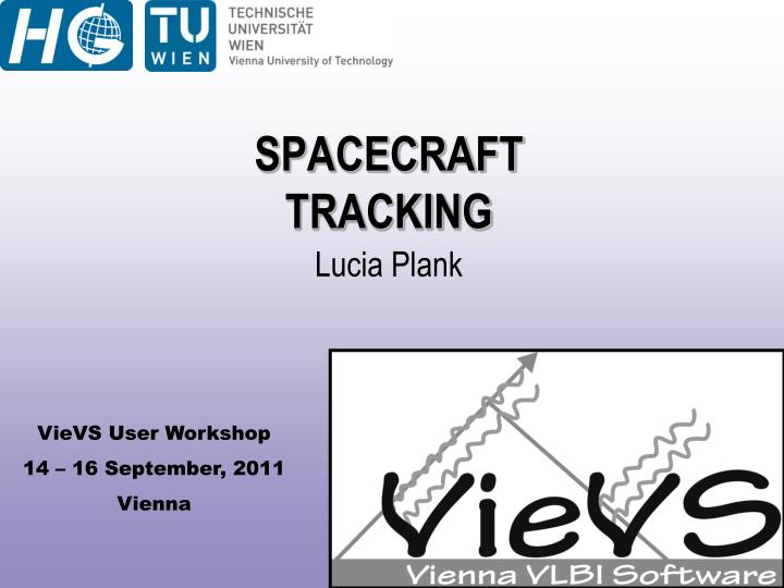 Spacecraft tracking