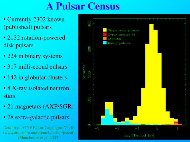 A Pulsar Census