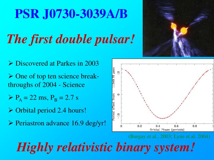 PSR J0730-3039A/B