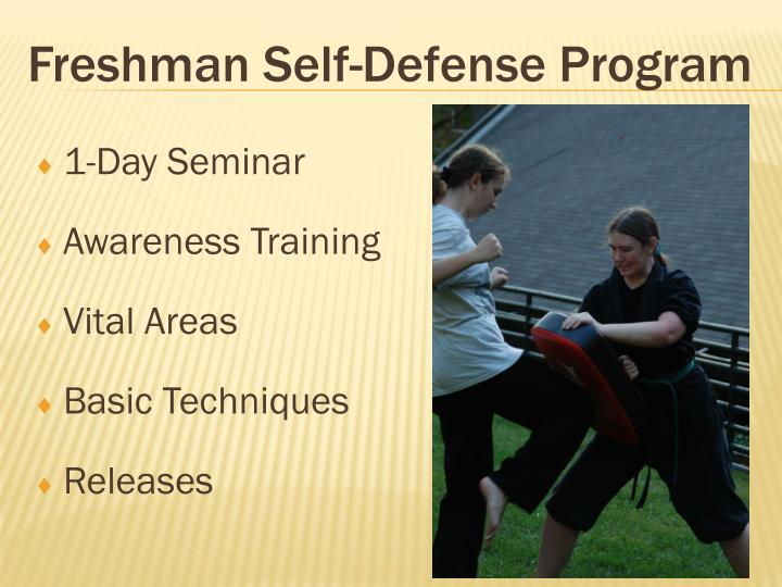 Freshman Self-Defense Program