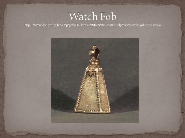 Watch Fob
